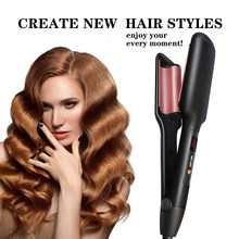 Hair Styling Tools Curler Curling Tongs Wang Set Deep Wave Iron Tourmaline Ceramic Curling Irons Hair Waver Styling(China)