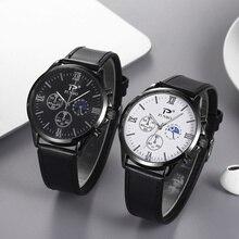 fashion quartz belt men's Women's wristwatch 2021 Men's Watches Top Brand Luxury Men Wrist Leather Watch Male Clock Relogio