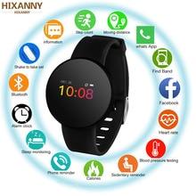 Новинка H8 цветной экран стекло сердечного ритма крови кислород IP68 водонепроницаемые спортивные часы Bluetooth Подарок умный Браслет Смарт часы