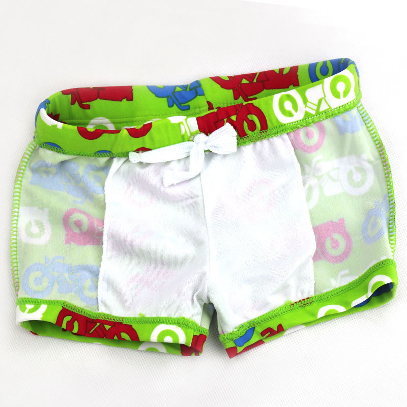 Special Offer Chinlon CHILDREN'S Swimming Trunks Boxer Cartoon Cute KID'S Swimwear BOY'S Swimming Suit