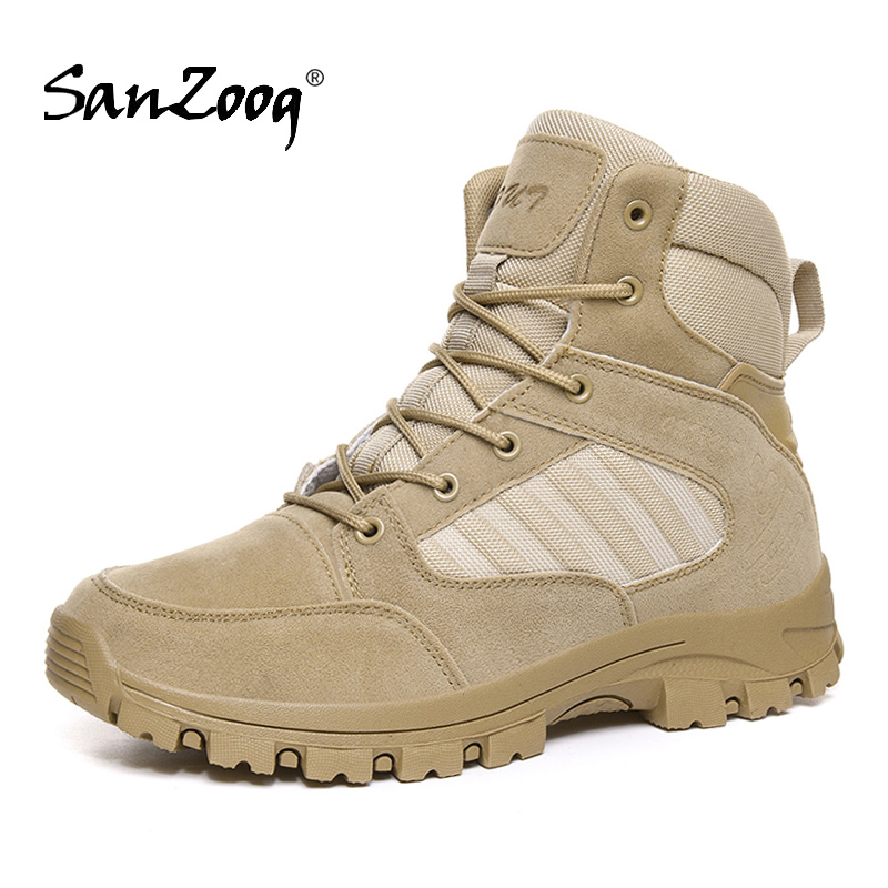 Outdoor Military Tactical Boots Men Hunting Botas Tacticas Militares Para Hombre Hiking Shoes Mountain Buty Wojskowe Botas Swat|Hiking Shoes| |  - title=