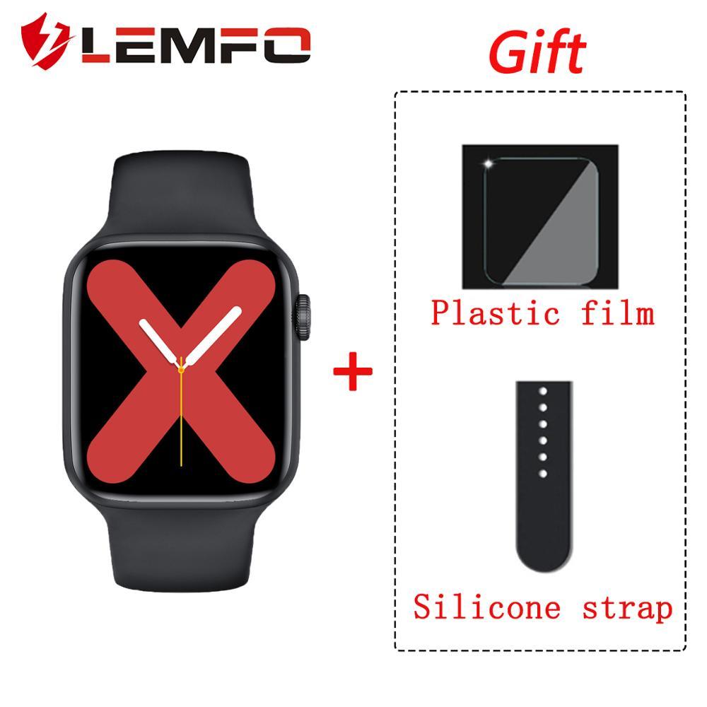 LEMFO W16 pk W26 iwo 12 Smart Watch Men Women 1 75 Inch 320 385 Resolution ECG Body Temperature IP68 Waterproof for Android IOS