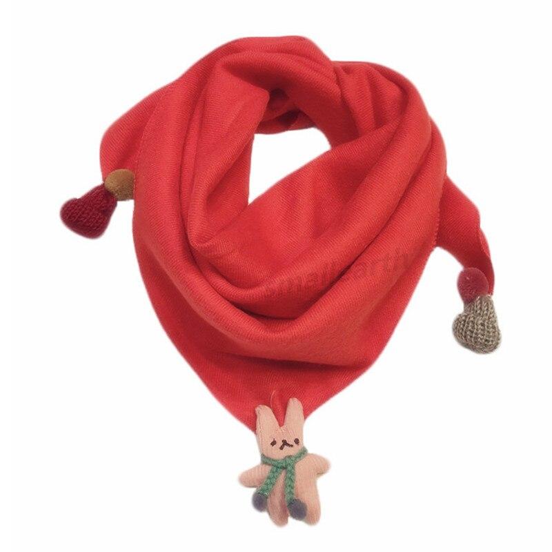 Весенние клетчатые треугольные шарфы в горошек для маленьких девочек; осенне-зимняя шаль для мальчиков и девочек; Детские хлопковые воротники; теплый детский шейный платок - Цвет: D1