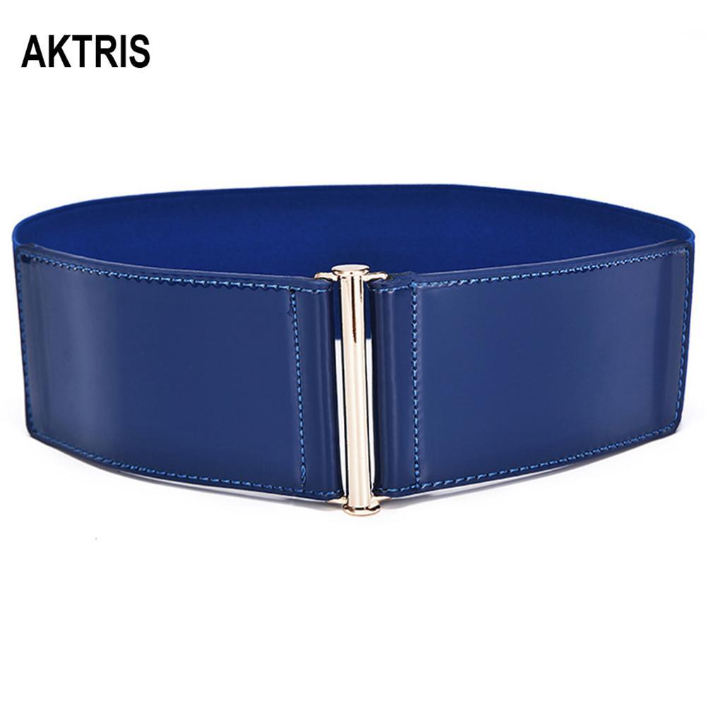 AKTRIS Ladies Fashion Waistband Belt Overcoat Decorative Genuine Leather Belts Cummerbunds For Women Type Accessories FCO147
