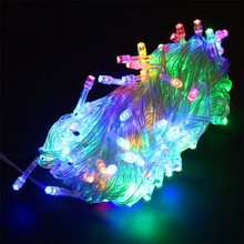 Sale Led String Light 10M 100LEDs Memory Function LED Fairy Light Wedding Tree Christmas Light Decoracion AC220V(China)