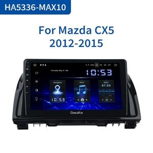 "Image 1 - Dasaita 1 Din Android 10.0 araba navigasyon GPS Mazda CX5 CX 5 2013 2014 2015 DSP 64GB ROM 10.2 ""IPS dokunmatik ekran"