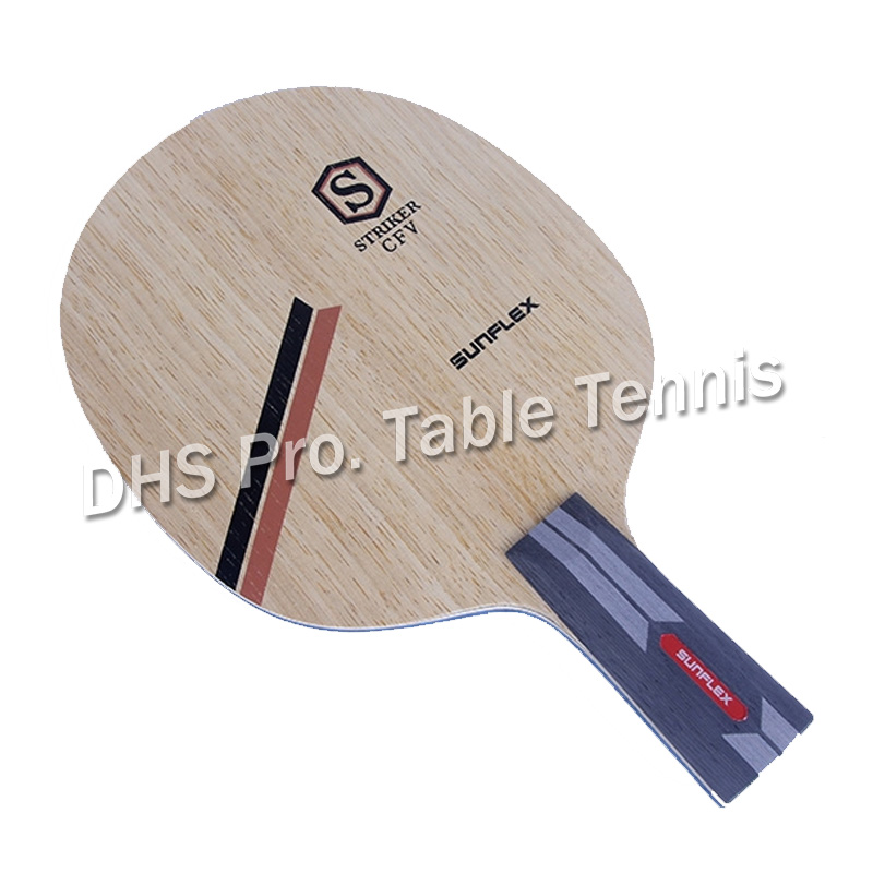 SUNFLEX STRIKER CFV Table Tennis Blade 7ply Wood For PingPong Racket Wood Professional