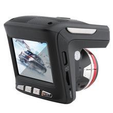Coche Dvr Detector de Radar 2 en 1 HD 1080P coche DVR Cámara Radar velocímetro láser Cámara 170 grados ángulo Video registrador registros