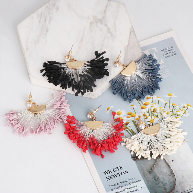 Flower-inspired Earrings