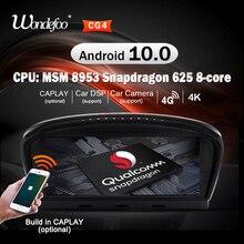 Radio con GPS para coche, Radio con navegador, estéreo, 2 din, Snapdragon, Android 10, para BMW serie 5, E60, E61, E63, E64, E90, E91