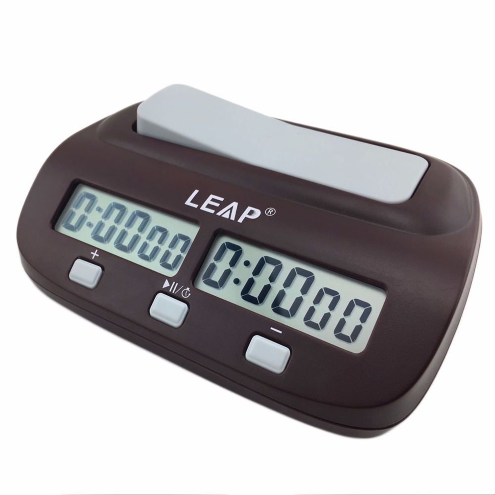 Reloj de ajedrez Digital compacto profesional temporizador de conteo hacia abajo juego de mesa electrónico Bonus competición Master Tournament gratis