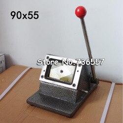 90x54mm Busines Karte Rechts Winkel Cutter Papier Karte Schneiden Maschine Manuelle DIY Haltegriff Cut