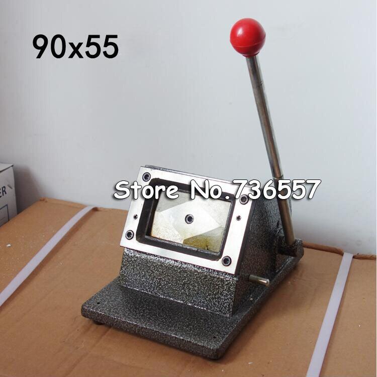 90x54mm Busines carte Angle droit coupe papier carte découpe manuelle bricolage poignée coupe