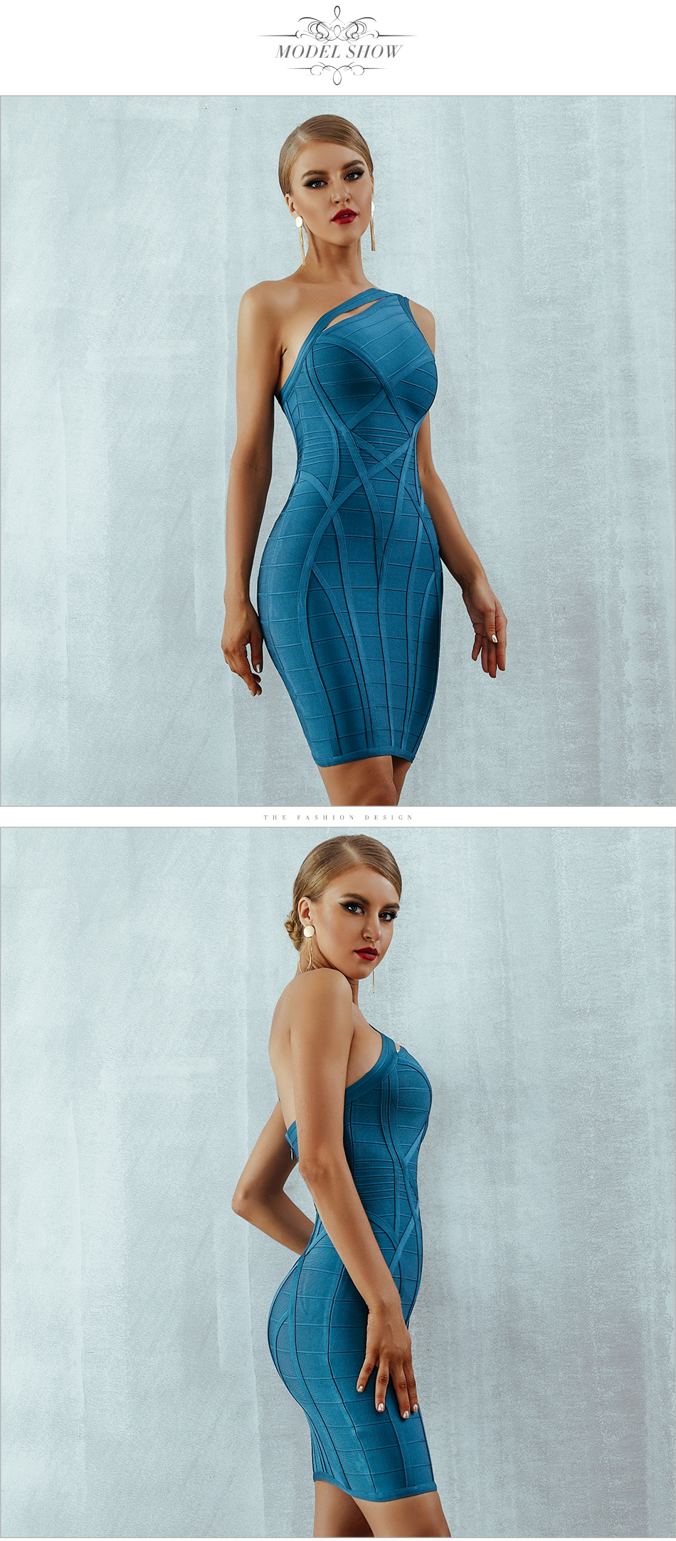 Hfc669525d6fa4e76a08cd2dd3ea818b9R - Adyce 2020 New One Shoulder Summer Women Bodycon Bandage Dress Sexy Hollow Out Sleeveless Midi Celebrity Runway Party Club Dress