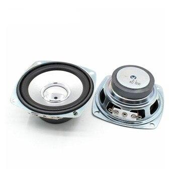 SOTAMIA 2Pcs 3 Inch Mini Portable Full Range Speaker 4 Ohm 10W Loudspeaker Square Music Sound DIY Speaker For Home Theater