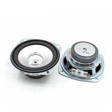 Sotamia 2 Stuks 3 Inch Mini Draagbare Full Range Luidspreker 4 Ohm 10W Luidspreker Vierkante Muziek Geluid Diy Speaker voor Home Theater