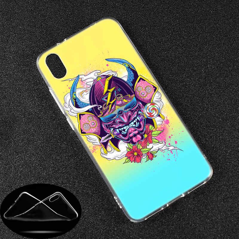 الفاخرة غطاء من السيليكون اليابانية أوني قناع الفن ل Xiaomi Redmi K20 برو 7 7A 6 6A 4X5 زائد S2 الذهاب ملاحظة 8 7 6 5 برو 4 الأزياء