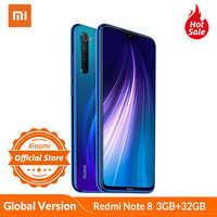 Global Version Xiaomi Redmi Note 8 smartphone 3GB 32GB Snapdragon 665 Octa Core Mobile Phone 48MP Full scene quad camera 4000mAh