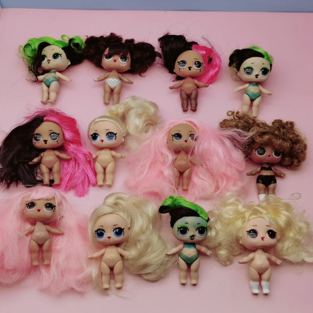 LOL surprise doll series 5 nude dolls can choose children's gift toys 2