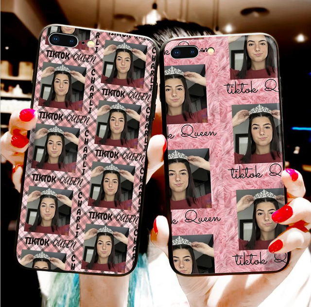 CHARLI D'AMELIO THEMED IPHONE CASE (8 VARIAN)
