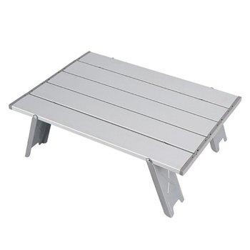 Mini składany stół grill na świeżym powietrzu namiot kempingowy łóżko domowe składane biurko komputerowe składany stół aluminiowy składany stół tanie i dobre opinie OUTAD CN (pochodzenie) Metal Z aluminium Nowoczesna i minimalistyczna samodzielnie Rectangle 41 2CM*6 7CM*5 5CM Outdoor Furniture