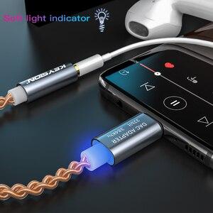 Image 5 - KEYSION HIFI DAC earphone Amplifier USB Type C to 3.5mm Headphone Jack audio adapter 32bit 384kHz Digital Decoder AUX Converter