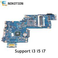 NOKOTION H000038240 H000038230 Para Toshiba Satellite L875 L870 motherboard 17.3 polegada Tela Intel hm76 ddr3 60N0ZXM1EA06-01