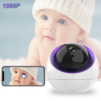 Wifi Baby Monitor 1080P Babyphone Camera 2 Way Audio Night Vision Auto Tracking Timing Start Switch Security Camera Baby Sitter