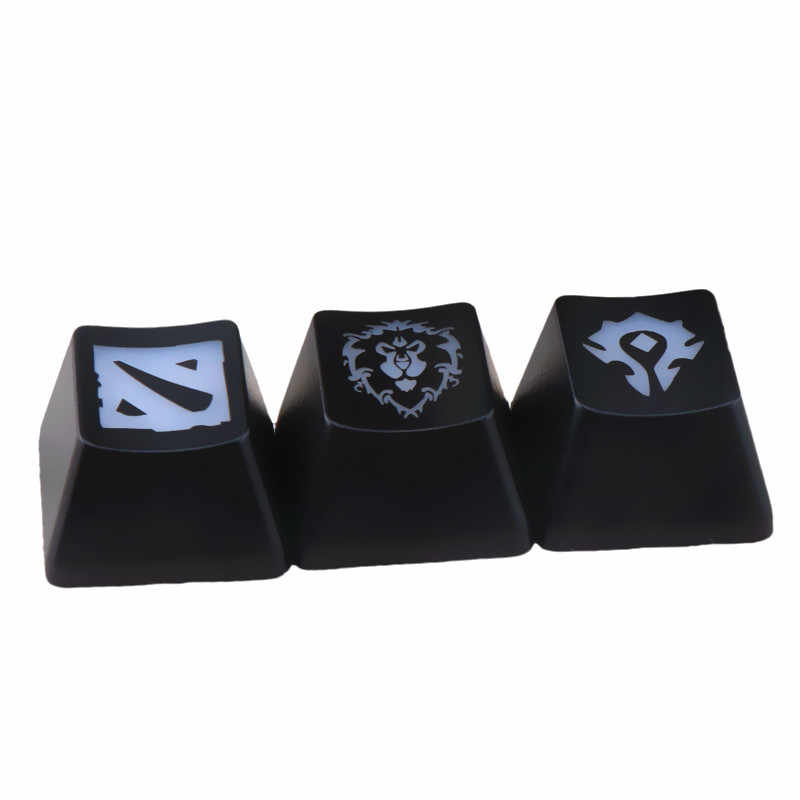 1PCS keycaps Game keycap Mechanical keyboard Caps Button World of Warcraft DOTA Key Caps Fitting DIY personality