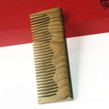 Фабрика предоставляет деревянный гребень Guajacwood подарок здоровое Нефритовое сандаловое дерево гребень обработка парикмахерская расческа