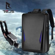 Rejs langt anti-roubo mochila com carregamento 17.3 Polegada portátil mochila masculina moda casca dura mochila de viagem de negócios