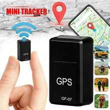 цена на 2020 New Portable GF07 Magnetic Mini Car Tracker GPS Real Time Tracking Locator Device GPRS Tracker Real-time Vehicle Locator
