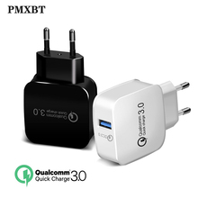 QC3.0 USB Charger Quick Charge For iphone Samsung Xiaomi Huawei EU/US Plug Charging Mobile Phone Charger USB Cable Power Adapter quick charge 3 0 usb charger travel for iphone samsung micro usb type c fast charging 3 ports eu us plug mobile phone charge