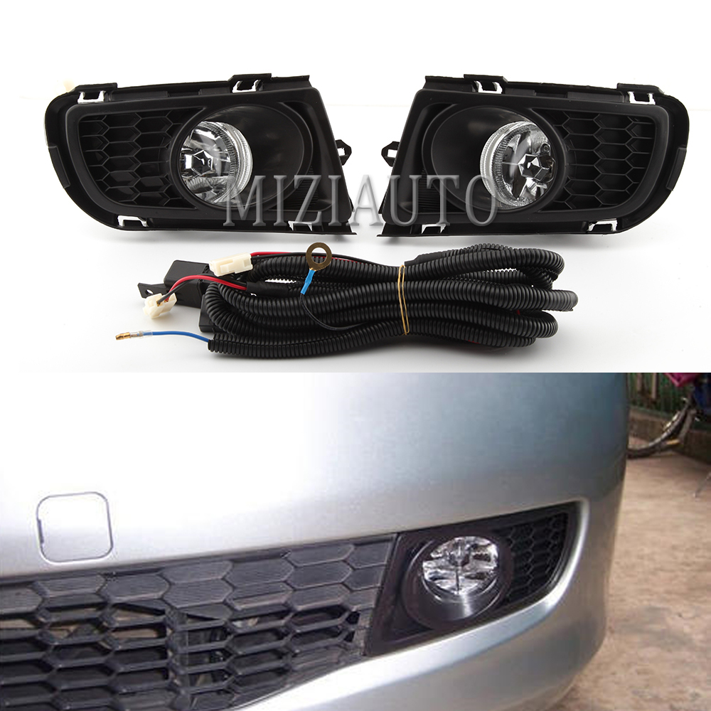 2pcs Car Front Bumper Fog <font><b>Light</b></font> For <font><b>MAZDA</b></font> <font><b>6</b></font> Sedan GG1 2006 2007 2008 2009 2010 Fog Lamp Driving <font><b>Light</b></font> Foglight Foglamp With Bulb image