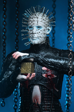 18cm Original NECA Hellraiser Ultimate Pinhead Hell Tear Your Soul Apart PVC Action Figure Movable Collection Of Toy Gifts
