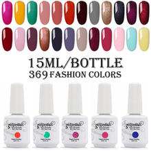 15ml Big Bottle Nail Gel Gelpolish UV/LED Nail Gel Polish Soak Off Gel Nail Polish Lacquer Base Top Coat Nail Art Varnish electric nail polish shaker machine nail gel polish bottle shaking device portable gel polish varnish bottle shaking machine