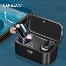 EARDECO TWS True Wireless Bluetooth Headphones 5.0 HiFi Earphone Earbuds Bass Earphones Stereo Sport Headset with Mic For Phone все цены