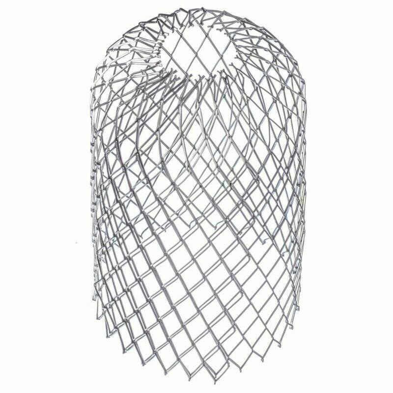 4 قطعة شبكة حماية معدنية مقاومة للتآكل مصفاة الفلتر منع أوراق الحطام فروع سقف موس من انسداد الأنابيب L9