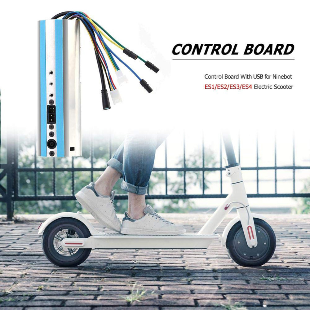 Scooter Controller Control Board With USB For Ninebot ES1/ES2/ES3/ES4  Scooter Activated Bluetooth Dashboard Scooter Parts