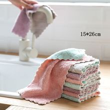 20/30pcs Rag Cleaning Cloth For Washing Dishs Kitchen Supplies Kitchen Double Side Absorbent Dishcloth Special Soft Kitchen Tool