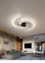 Modern new fireworks chandelier living room bedroom household chandelier modern led ceiling Chandelier