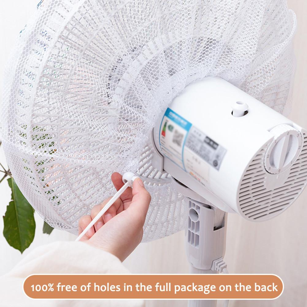 Fan Protection Cover Fan Net Child Safety Nylon Rope Washable Dustproof Protect The Baby Finger Dustproof Safety Fan Dust Cover
