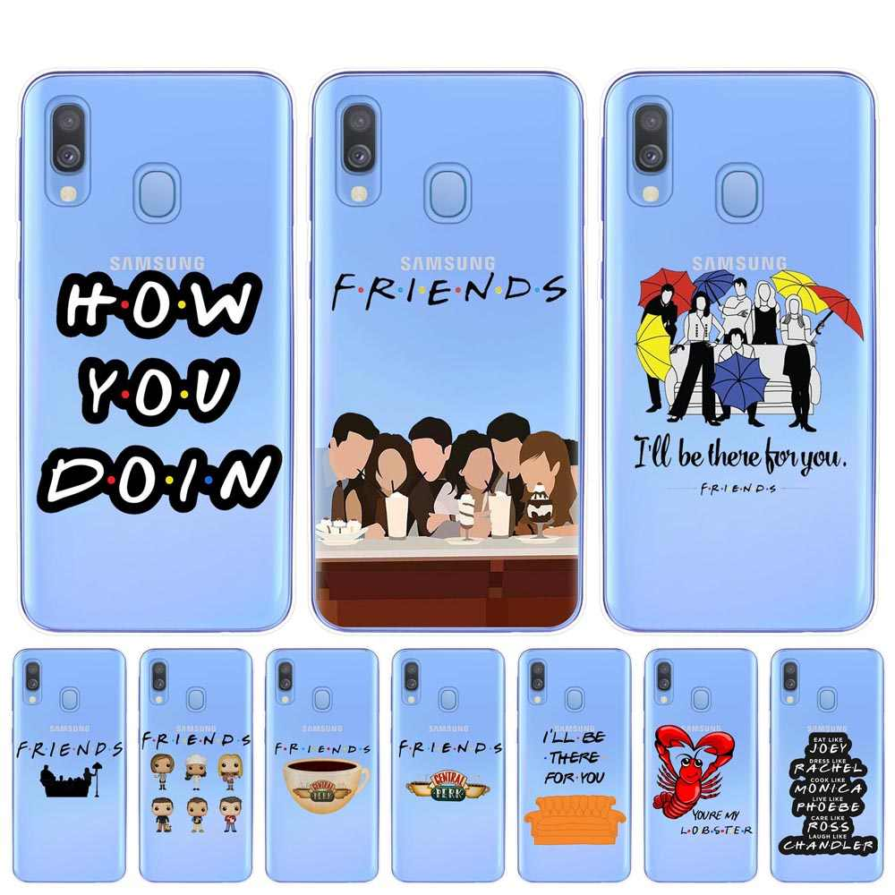 Central Perk Coffee friends tv show how you doing Phone Case Cover For Samsung A10 A20 A30 A40 A50 A70 A7 A9 A6 A8 Plus 2018 TPU