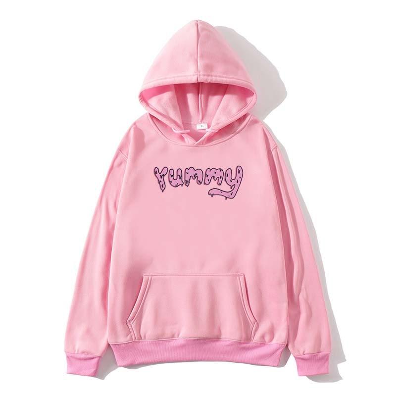 Justin Bieber Yummy Drew Men Women Hiphop Streetwear Pink Black Fans