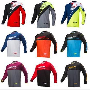 2020 Kenny camiseta para moto DH MX BMX bicicleta de montaña para camiseta para moto/MotoCross ATV Da Corsa di Fondo moto Traspirante para Camicia