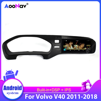 2Din Android Car Radio Multimedia Player Gps Navigation For-Volvo V40 2011-2018 Car Autoradio Stereo Head Unit Hd Touch Screen image