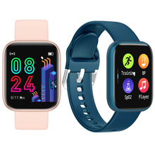 Buy P4 Smart wristband Full screen touch Smart Watch Heart Rate Monitor Fitness Waterproof Sport Tracker Bracelet smartwatch band directly from merchant!