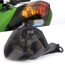 цена на Accessories Motorcycle LED Rear Tail Brake Light Turn Signal Lights For Kawasaki Z750 Z1000 2007-2013 Ninja ZX10R ZX-10R 2008-2010 ZX-6R 2009-2012