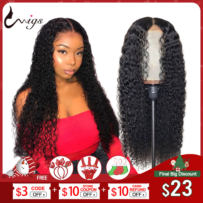 Mongolian Jerry Curl Wig Lace Front Human Hair Wigs For Black Women 13x4 13x6 Lace Frontal Wig Curly Human Hair Wig Pre Plucked