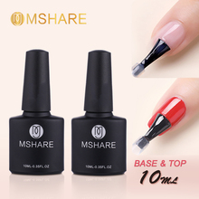 MSHARE Primer Base Top Coat UV Led Nail Gel Varnish Semi Per